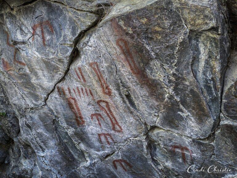 Are Idaho pictographs a shaman's dream?